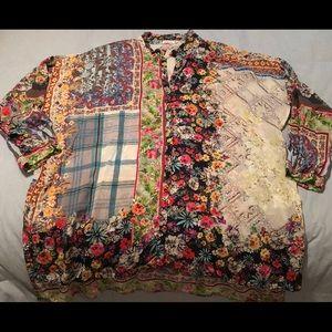 Johnny Was Invicta blouse